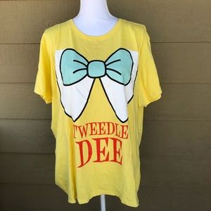 Port & Company Tweedle Dee Shirt Size 3XL